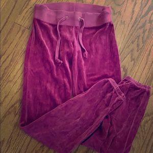 JUICY COUTURE  Fuschia Pants 🍁